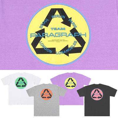 [Paragraph] リサイクルtシャツ/半袖 (4color)