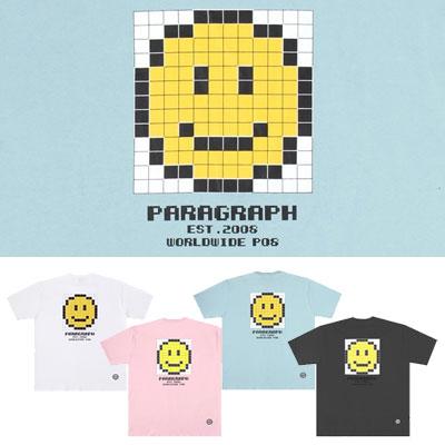 [Paragraph] キューブスマイルtシャツ/半袖 (4color)