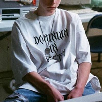 [UNISEX] DOMINIUMTシャツ/半袖