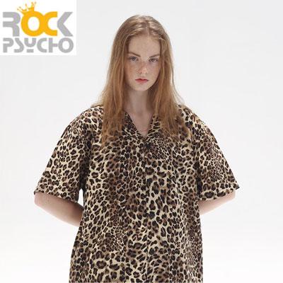 【ROCK PSYCHO】サマーレオパードシャツ (3size)