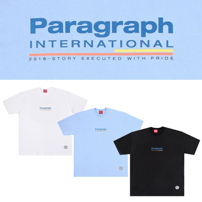 [Paragraph] インターナショナルtシャツ/半袖 (3color)