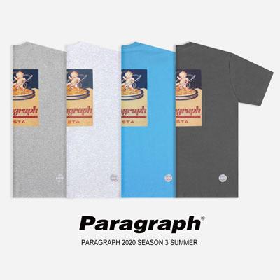 [Paragraph] パスタtシャツ/半袖 (4color)
