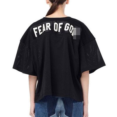 [UNISEX] 後ろパッチメッシュTシャツ/半袖