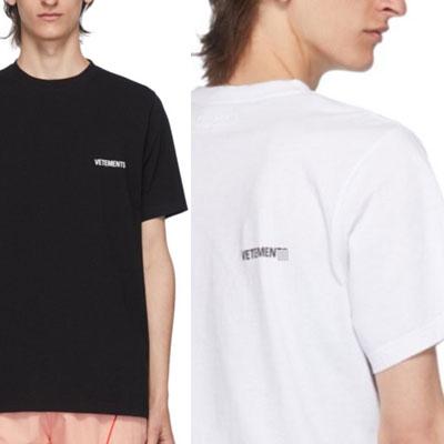 [UNISEX] フロントバックセームTシャツ/半袖