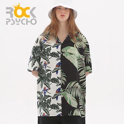 【ROCK PSYCHO】ハーフサマーシャツ