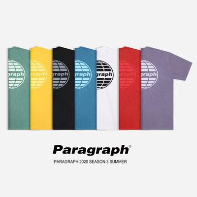 [Paragraph] クラシック染めtシャツ/半袖 (7color)