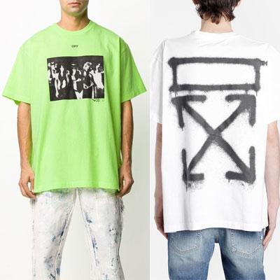[UNISEX] スプレーアローTシャツ/半袖 (2color)