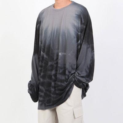 [UNISEX] インクロングtシャツ/長袖 (2color)