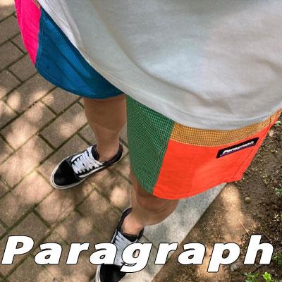 [Paragraph] カラーブロックショーツ (2color)