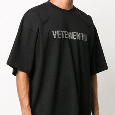 [UNISEX] ストーンラインロゴTシャツ/半袖 (2color)