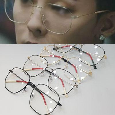 [UNISEX] BIGBANG/GD/G-dragon/ジヨン st. チップポイントメガネ/眼鏡 (4color)