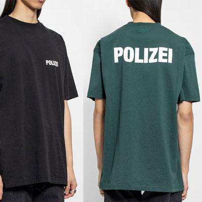 [UNISEX] ポリジェイロゴTシャツ/半袖 (2color)
