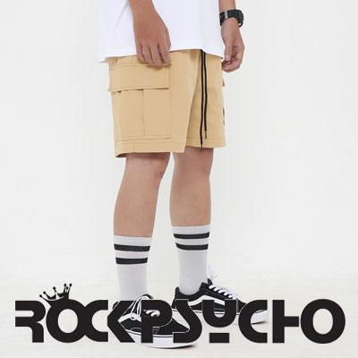 【ROCK PSYCHO】カーゴショーツ -Beige