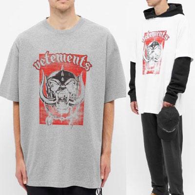 [UNISEX] モトワールドレタリングTシャツ/半袖 (2color)