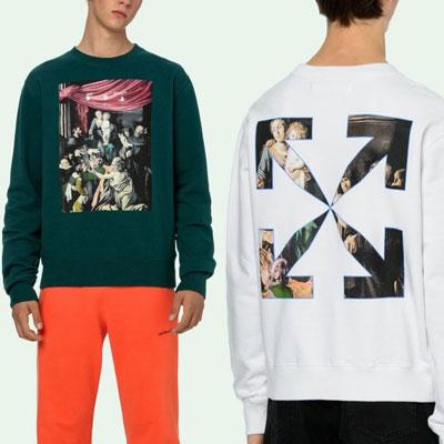 [UNISEX] カラバジオアロースウェットシャツ (3color)
