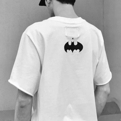 [UNISEX] コウモリロゴTシャツ/半袖 (2color)