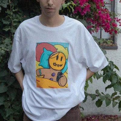 [UNISEX] スマイルクッキーTシャツ/半袖