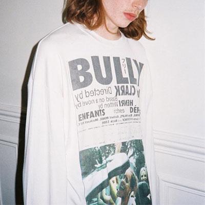 [UNISEX] BULLY ロングスリーブTシャツ/長袖