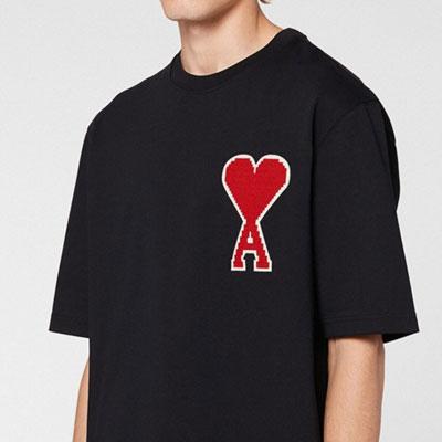 [UNISEX] ビッグAハートTシャツ/半袖 (2color)