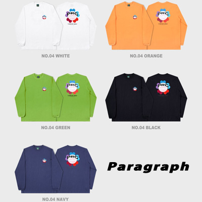 [Paragraph] PRG クローバーロングスリーブtシャツ/長袖 (5color)