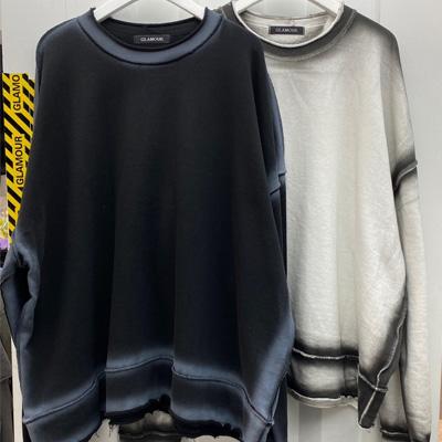 [UNISEX] サイドラインスウェットシャツ (2color)