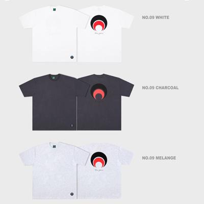 [Paragraph] 筆記体レタリングtシャツ/半袖 (3color)