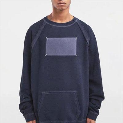 [UNISEX] ステッチポケットスウェットシャツ (2color)