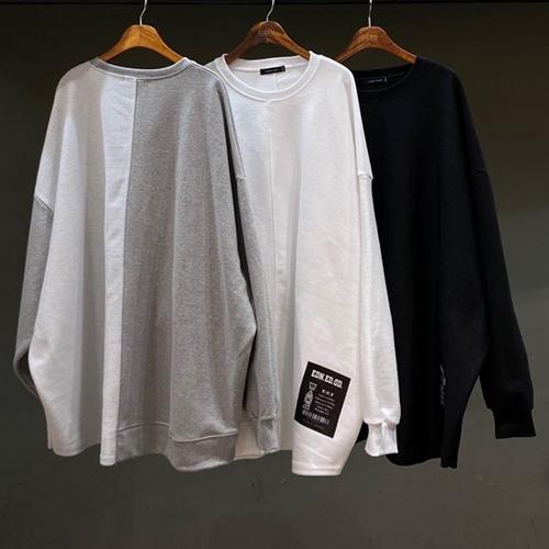 [UNISEX] ヘビーリバーススウェットシャツ (3color)