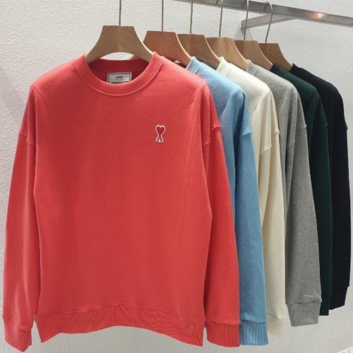 [UNISEX] ハートAパッチスウェットシャツ (6color)