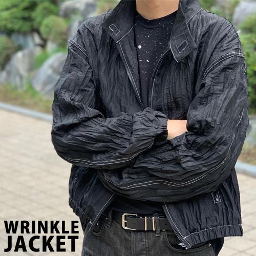[UNISEX] リンクルジャケット (2color)