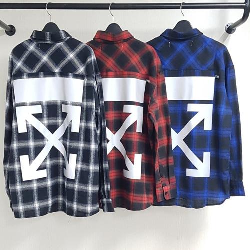 [UNISEX] タータンチェックシャツ (3color 2size)