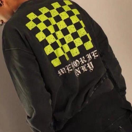 [UNISEX] チェスボードポイントスウェットシャツ