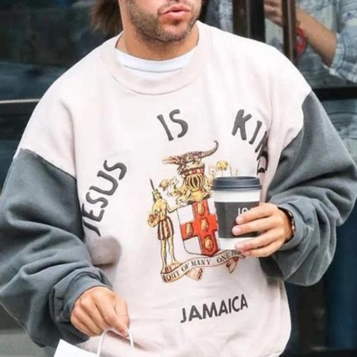 [UNISEX] ジャマイカジーザスイズキングスウェットシャツ