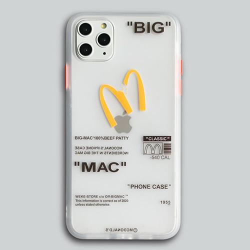 ブロークンMスマホケース/スマホカバー (2color iPhone, Galaxy)