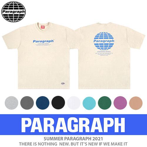 ●正規品●[PARAGRAPH/パラグラフ] クラシックカラーTシャツ/半袖 (5color)