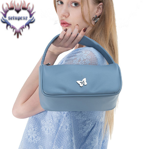 【SETUP-EXE】 Silverlabel point tote bag [blue]