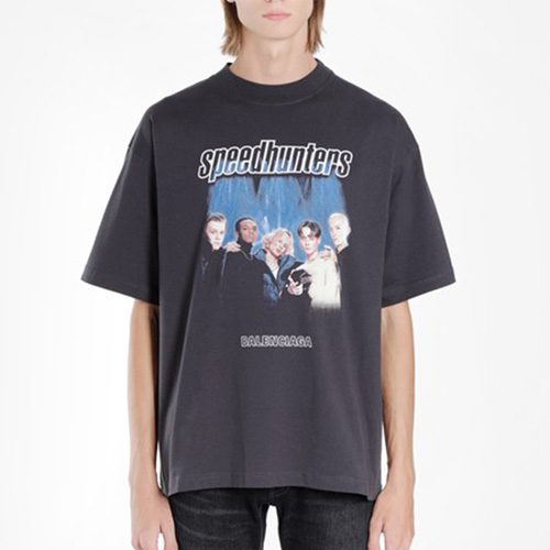 [UNISEX] スピードボーイズTシャツ/半袖