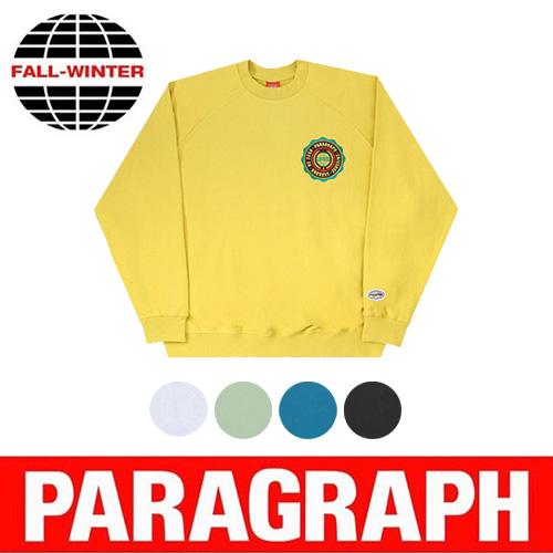 ●正規品●[PARAGRAPH/パラグラフ] シールドラグランスウェットシャツ/長袖/トレーナー (4color)