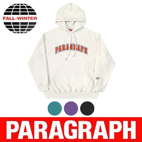●正規品●[PARAGRAPH/パラグラフ] レタリングフーディー/パーカー (4color)