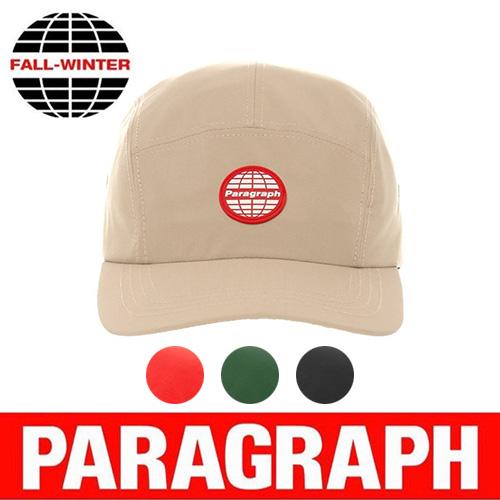 ●正規品●[PARAGRAPH/パラグラフ] ベーシックキャンプキャップ (4color)