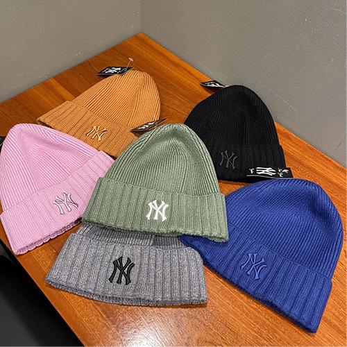 [UNISEX] NY ロゴニットビーニー/ニット帽 (6color)